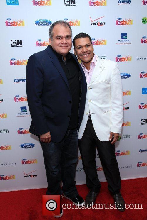 Armando Correa and Guest 'People En Espanol' celebrates...