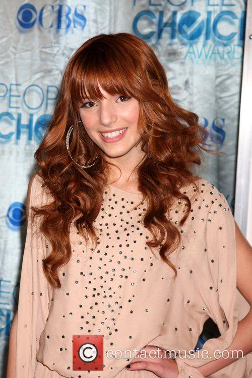 Bella Thorne 2011 People's Choice Awards at Nokia...