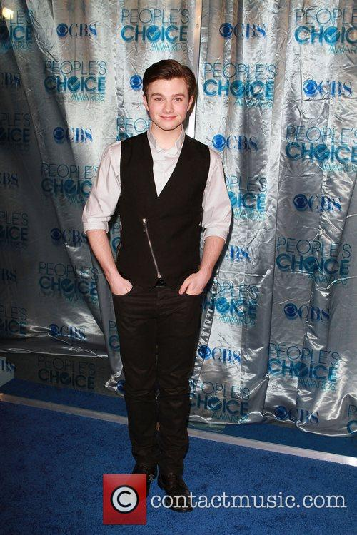 Chris Colfer 2011 People's Choice Awards at Nokia...