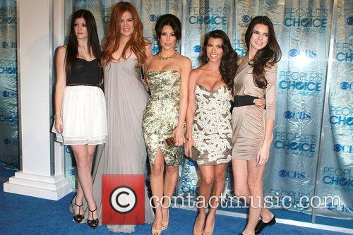 Khloe Kardashian, Kim Kardashian, Kourtney Kardashian and Kylie Jenner 3