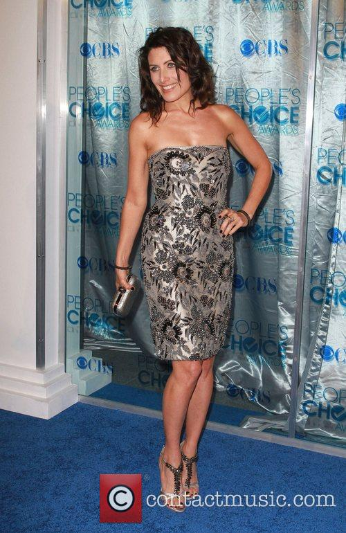 Lisa Edelstein 2011 People's Choice Awards at Nokia...