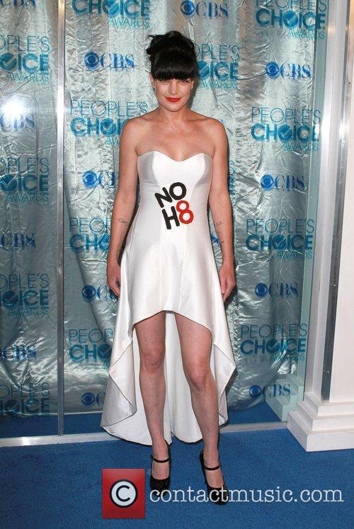 Pauley Perrette 2011 People's Choice Awards at Nokia...