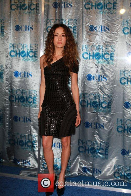 Maggie Q 2011 People's Choice Awards at Nokia...