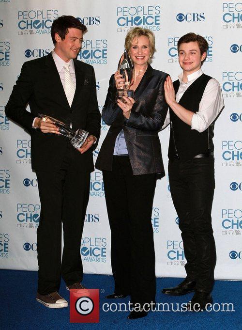 Cory Monteith, Chris Colfer, Jane Lynch, People's Choice Awards