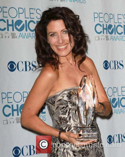 Lisa Edelstein 2011 People's Choice Awards held at...