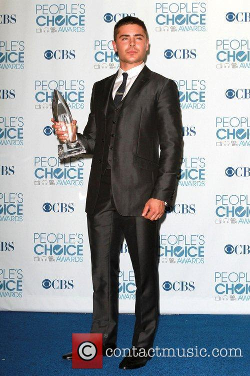 Zac Efron 2011 People's Choice Awards held at...