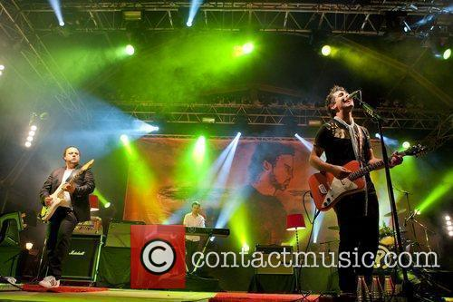 Portuguese band, Per7ume, performing live at Festas do...