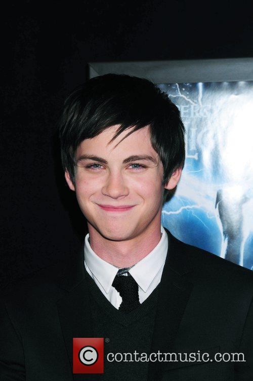 At the premiere of 'Percy Jackson And The...