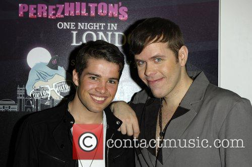 Joe Mcelderry and Perez Hilton 4