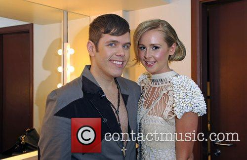 Perez Hilton and Diana Vickers 2