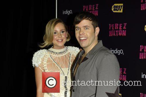 Perez Hilton and Diana Vickers 4
