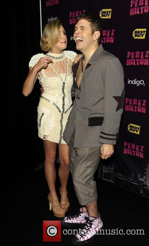 Perez Hilton and Diana Vickers 10