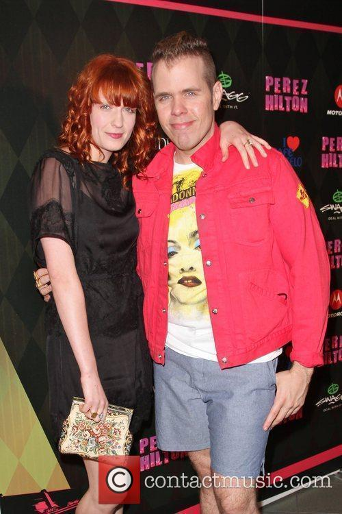 Perez Hilton, Florence and the Machine and Florence Welch 2