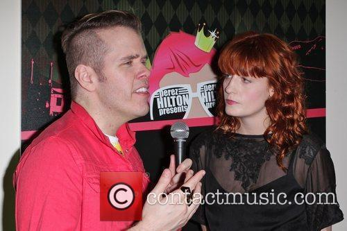 Perez Hilton, Florence and the Machine and Florence Welch 7