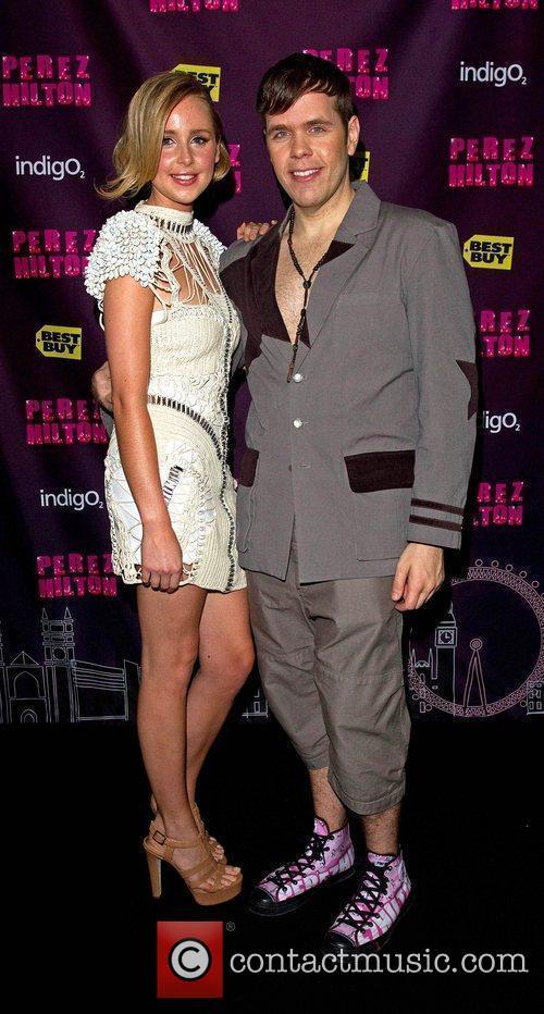 Diana Vickers and Perez Hilton 3