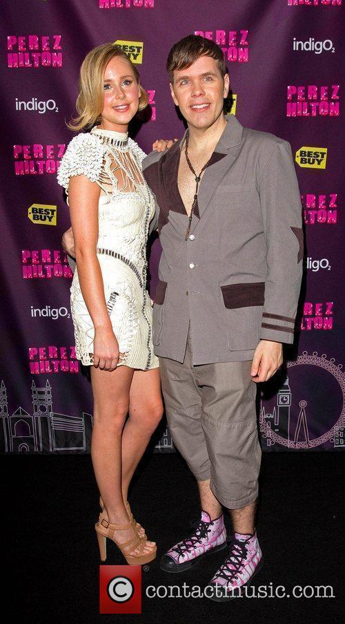 Diana Vickers and Perez Hilton 2