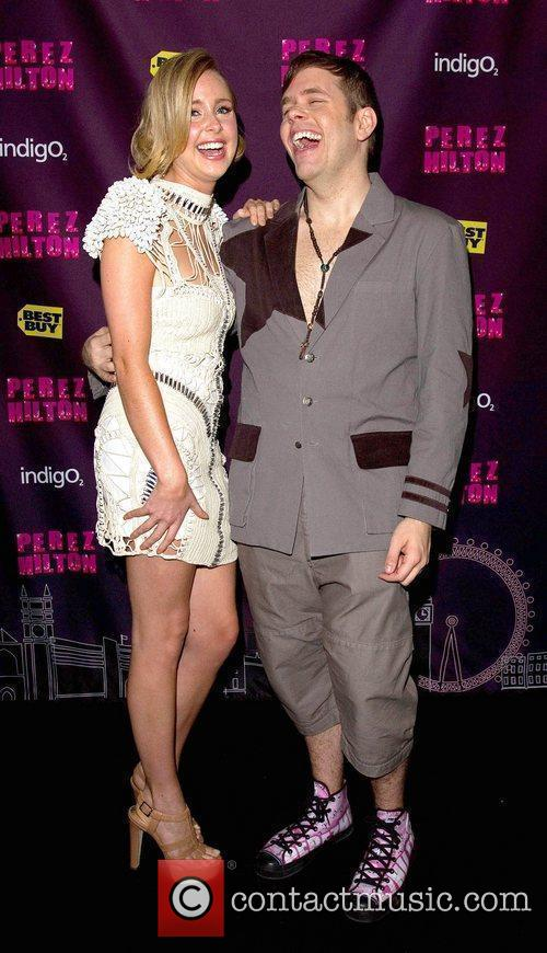 Diana Vickers and Perez Hilton 5