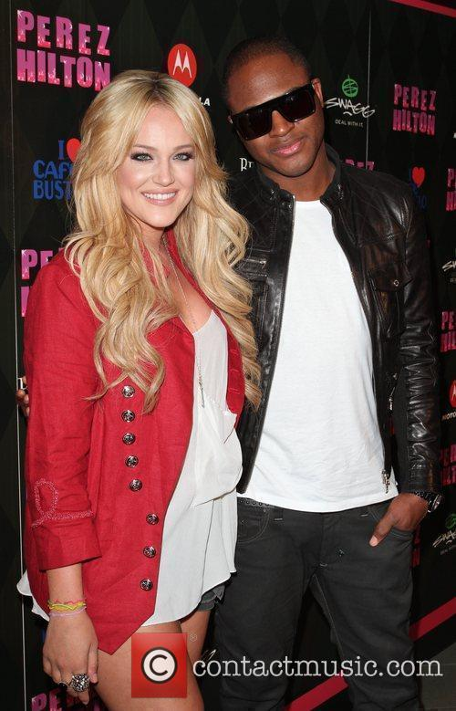 Lacey Schwimmer and Taio Cruz Perez Hilton's 'One...