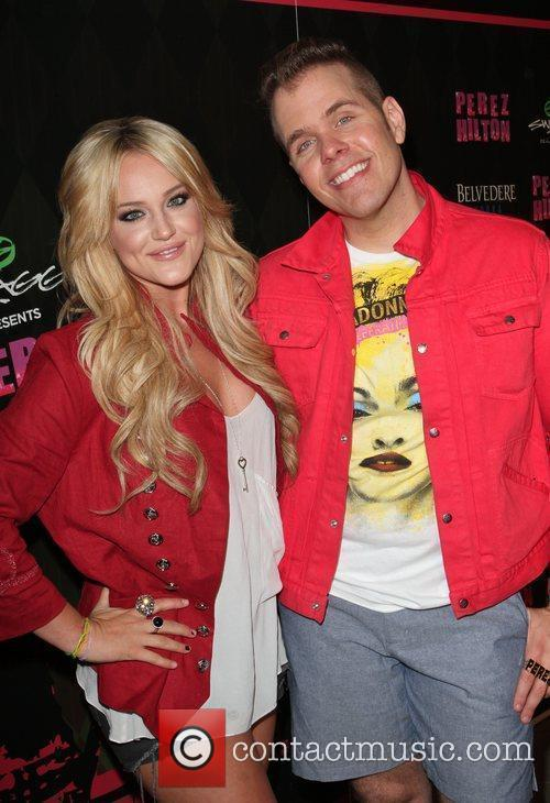 Lacey Schwimmer and Perez Hilton 6