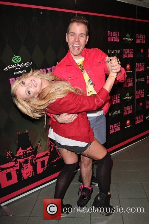 Lacey Schwimmer and Perez Hilton 2