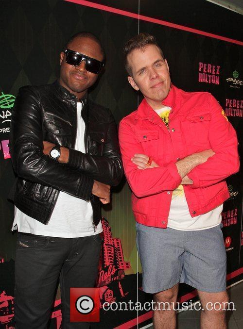 Taio Cruz and Perez Hilton Perez Hilton's 'One...