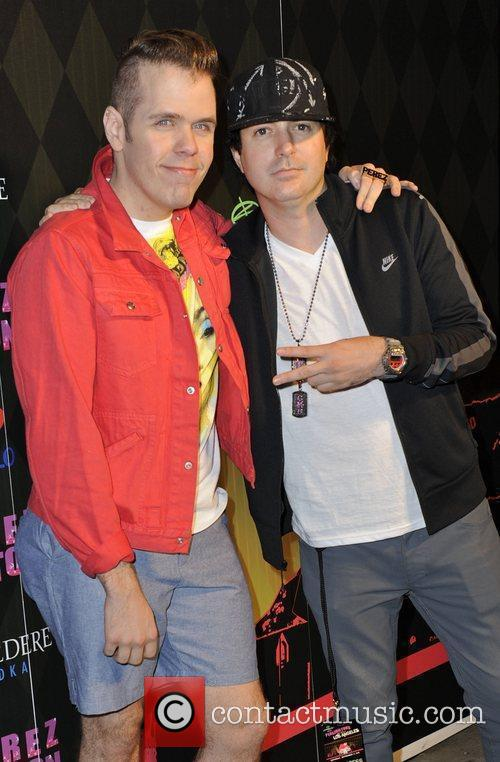 Perez Hilton and Kevin Rudolf