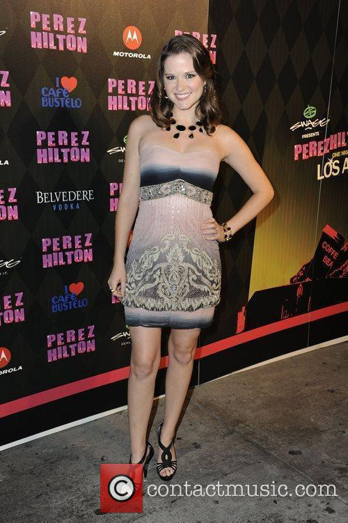 Sarah Drew Perez Hilton's 'One Night in LA'...