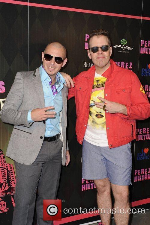 Pitbull and Perez Hilton 4