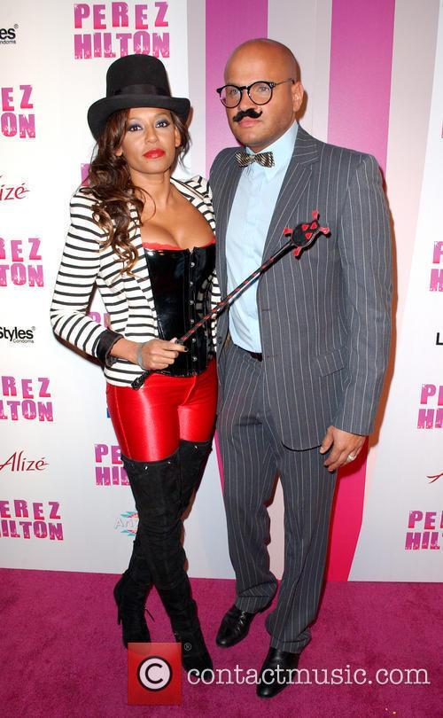 Mel B, aka Melanie Brown and Stephen Belafonte...