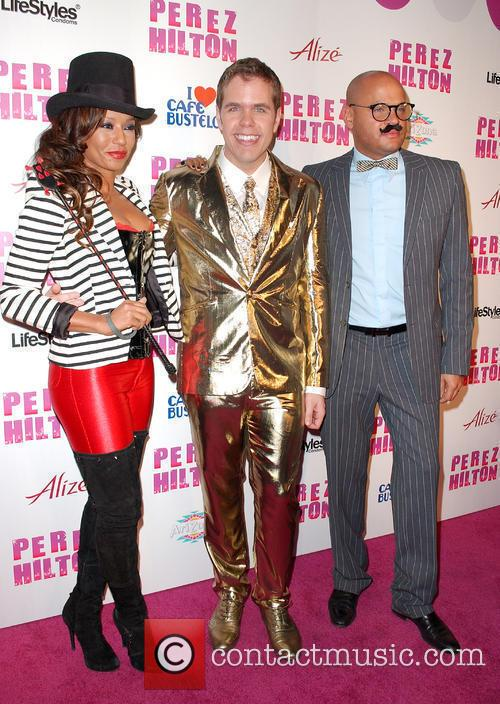 Mel B, aka Melanie Brown, Perez Hilton and...