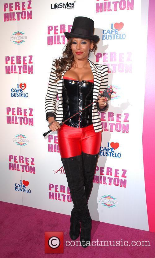Mel B, aka Melanie Brown Perez Hilton's 'Carn-Evil'...
