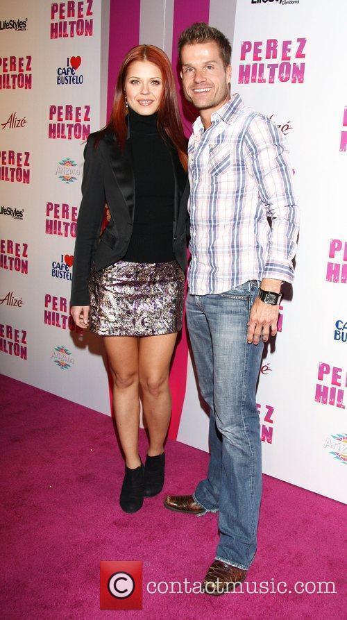 Anna Trebunskaya and Louis Van Amstel Perez Hilton's...