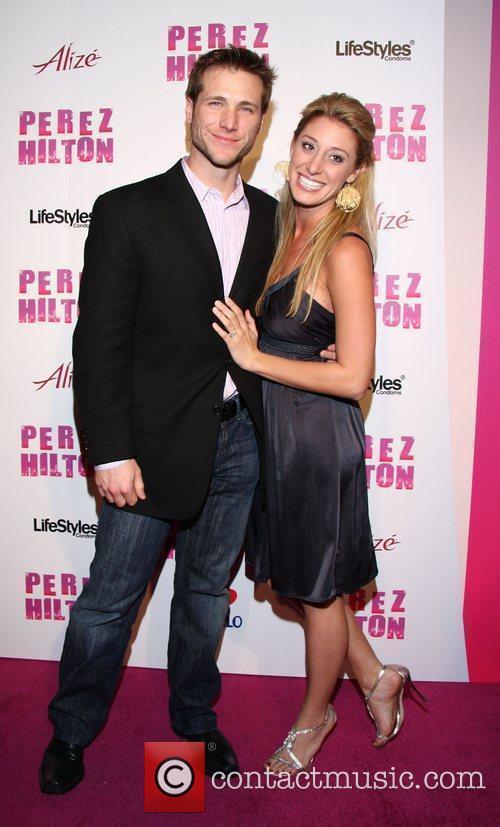 Jake Pavelka and Vienna Girardi Perez Hilton's 'Carn-Evil'...