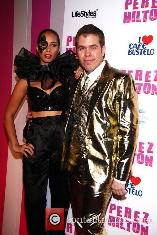 Leona Lewis and Perez Hilton Perez Hilton's 'Carn-Evil'...