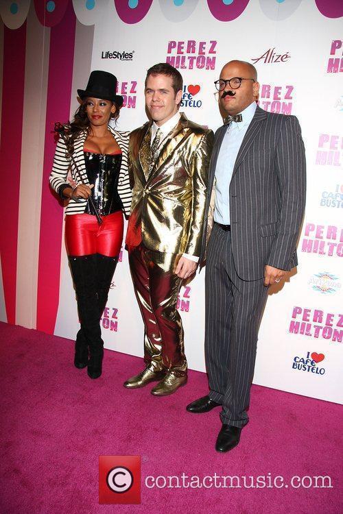 Melanie Brown, aka Mel B, Perez Hilton and...