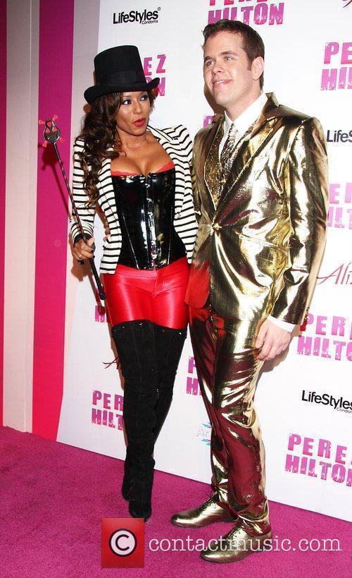 Melanie Brown, aka Mel B and Perez Hilton...