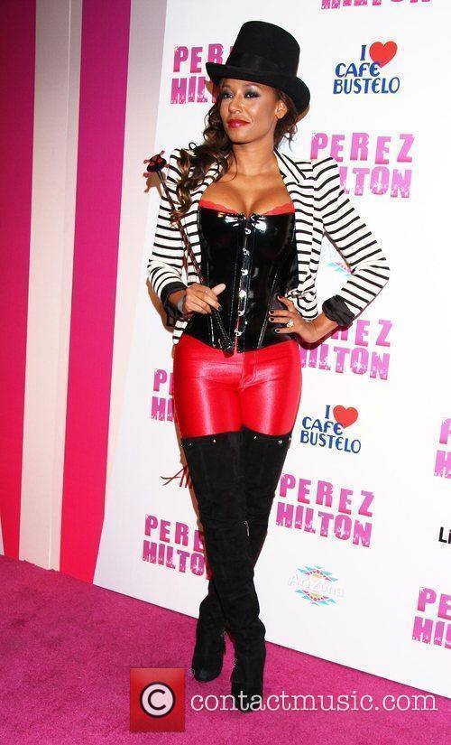 Melanie Brown, aka Mel B Perez Hilton's 'Carn-Evil'...