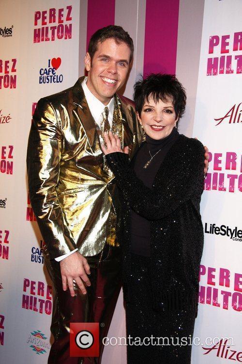 Perez Hilton and Liza Minnelli Perez Hilton's 'Carn-Evil'...
