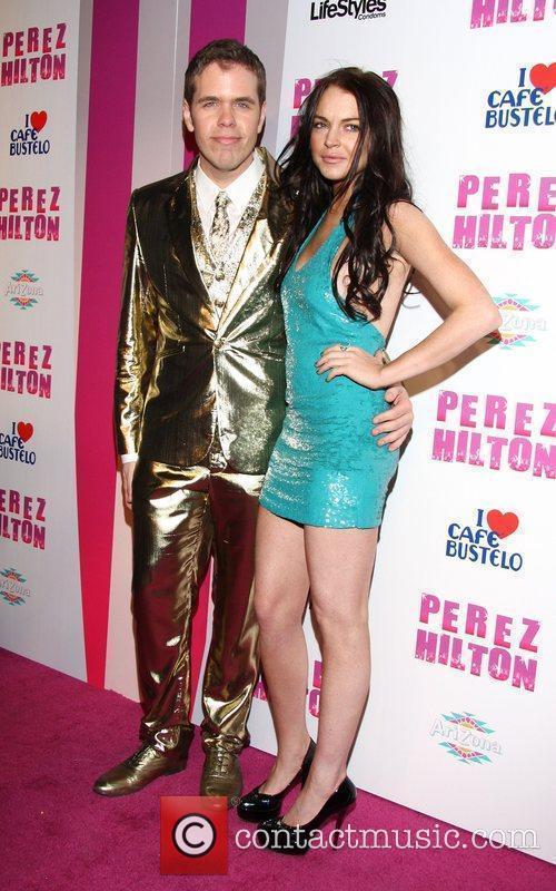 Perez Hilton and Lindsay Lohan Perez Hilton's 'Carn-Evil'...