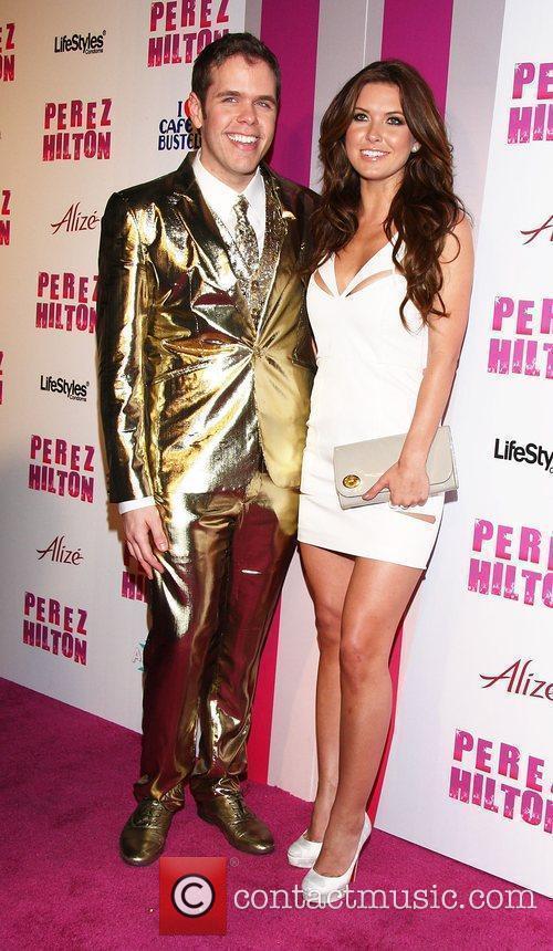 Perez Hilton and Audrina Patridge Perez Hilton's 'Carn-Evil'...