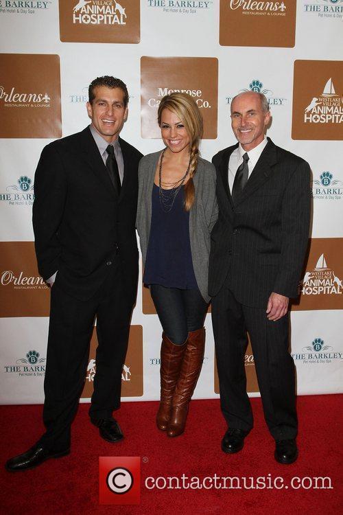 Dr. Steven Rosenstein, Jessica Hall and Dr. Daniel...
