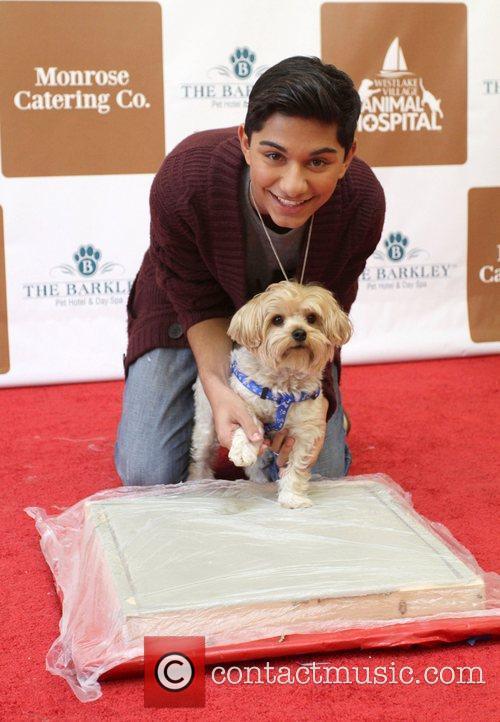Mark Indelicato and Chino The Barkley Pet Hotel...
