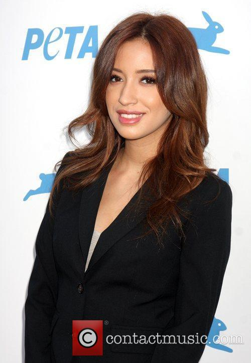 Christian Serratos and Palladium 1