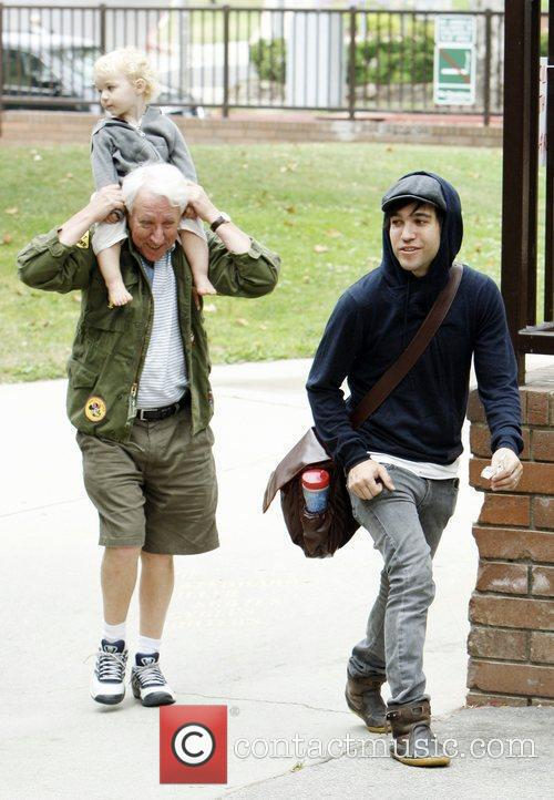 Pete Wentz spends an afternoon with his father...