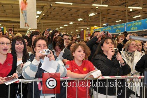 Peter Andre promotes and signs copies of his...