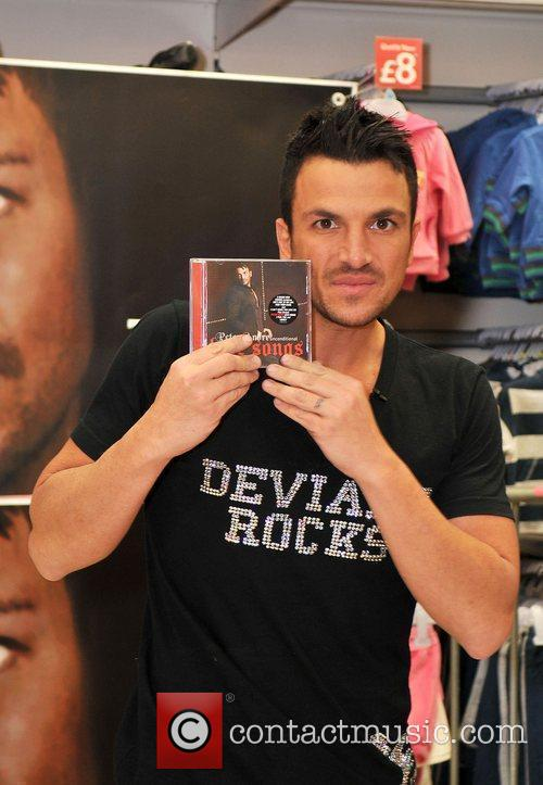Peter Andre  promotes and signs copies of...