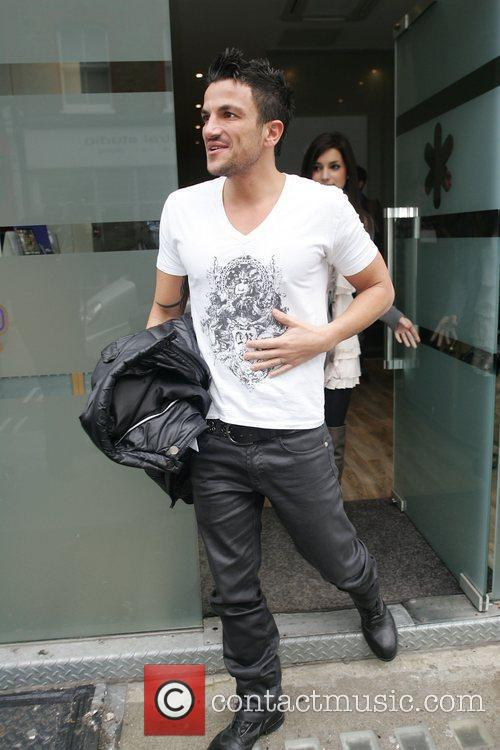 Peter Andre leaving Wise Buddah, hours after his...