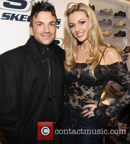 Peter Andre and former Miss World, Rosanna Davison...