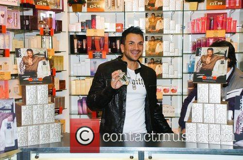 Promoting his new fragrance 'Unconditional' at the Perfume...