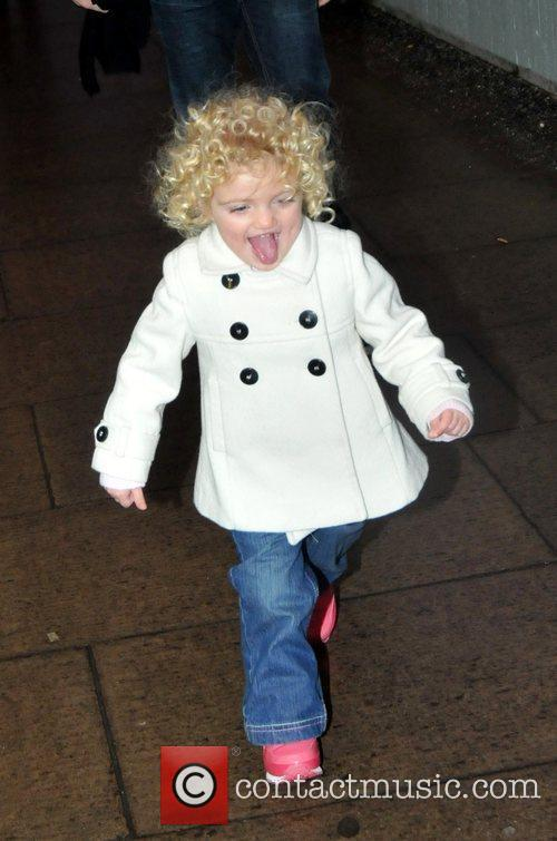 Peter Andre takes his children Junior Andre and...